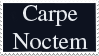 Stamp- Carpe Noctem by Kumkrum