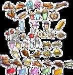AngelxSnap Item Sticker Sets