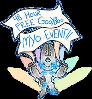 48 hour FREE GOOYBOO MYO EVENT CLOSED by TinyShiro
