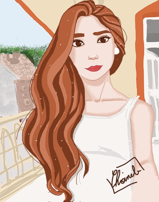 Portrait by choineb