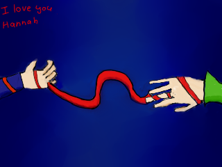 13 Reasons why, The Red String of Fate by kev4ever