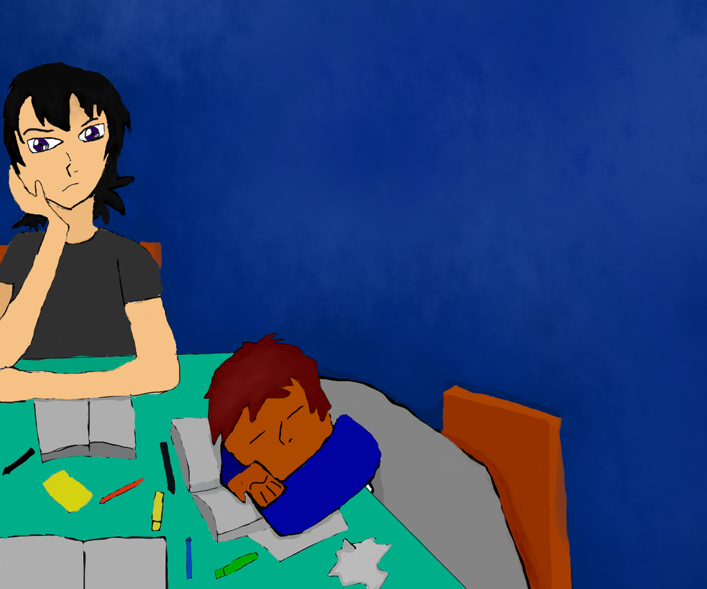 Klance Homework, Test is TOMORROW! by kev4ever