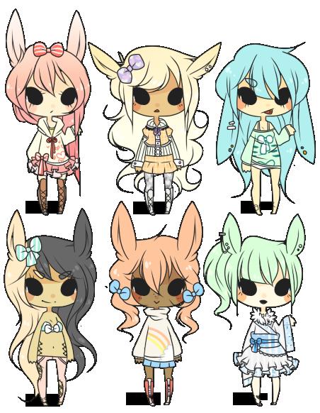 [ itasox : pastel rabbits ] by sockjuice