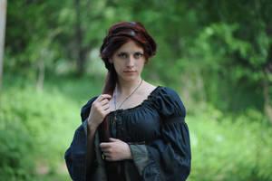 Forest Witchcraft Portrait 5 by Anariel-Stock