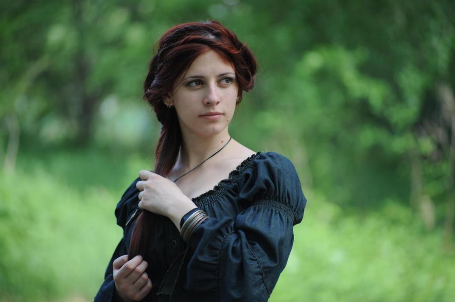 Forest Witchcraft Portrait 6 by Anariel-Stock