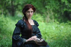 Forest Witchcraft Portrait 7 by Anariel-Stock