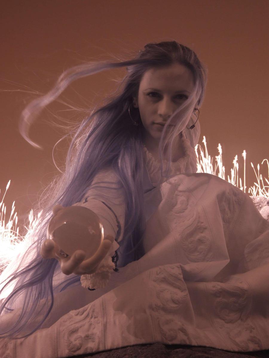 Blue hair portrait 5