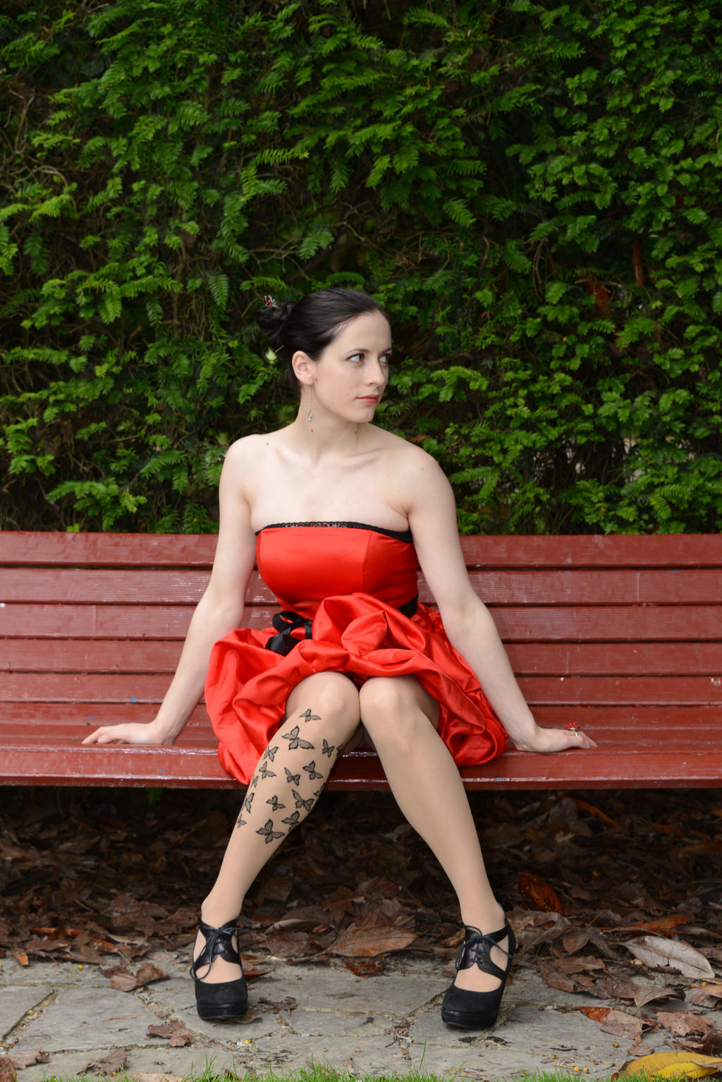 Red Satin 10 by Anariel-Stock