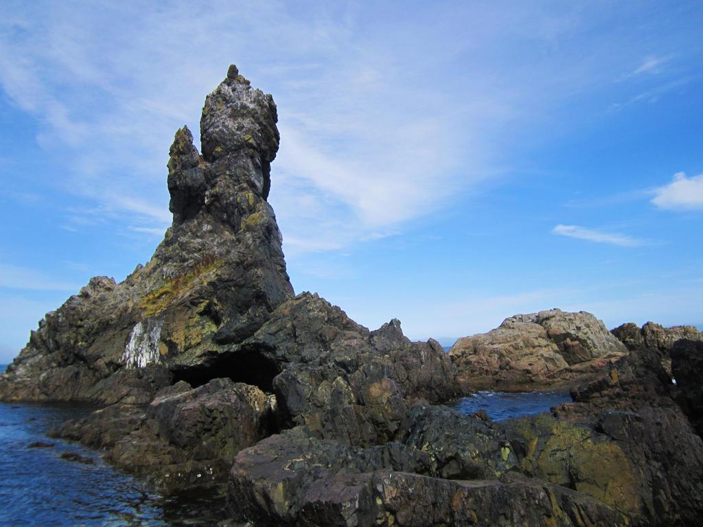 Sea Rocks by Anariel-Stock