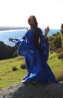 Blue Dress 1 by Anariel-Stock
