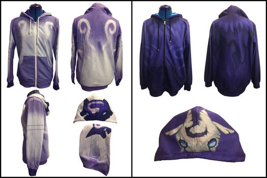 Kindred Lamb and Wolf Hoodies