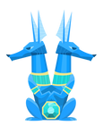 Sapphire Swag Vector