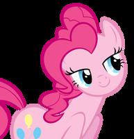 Flirty Pinkie Vector (Cropped) by Pirill-Poveniy