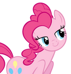 Flirty Pinkie Vector (Cropped)