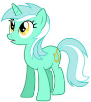 Lyra Vector (+Cutie Mark) by Pirill-Poveniy