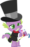Ring Bearer Spike Vector