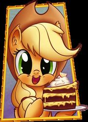 -Gift- Apple Cake by Pirill-Poveniy