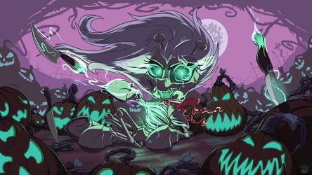 Spooky Scary Skellinore by Pirill-Poveniy
