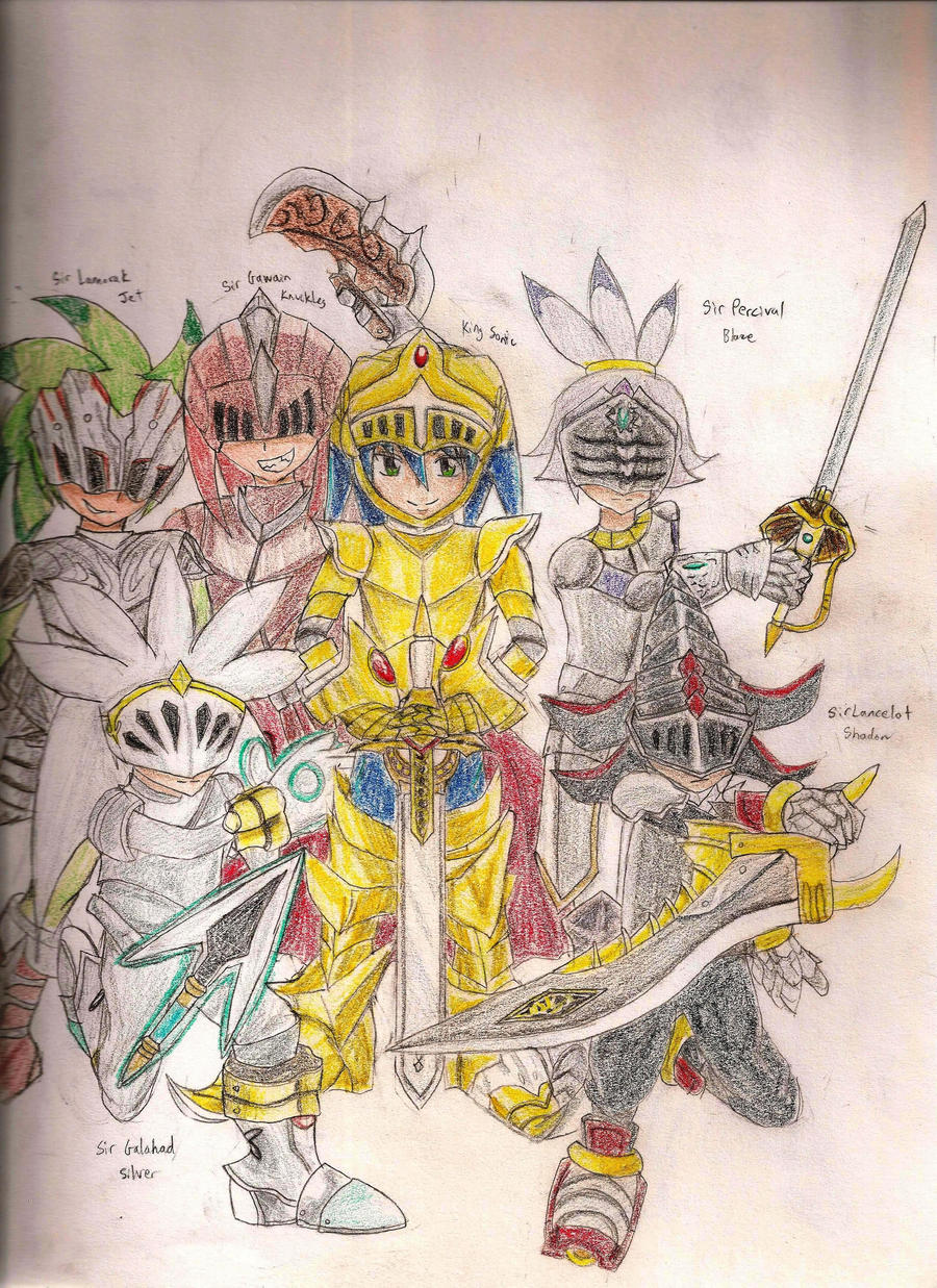 Knights Of The Round Table By IDetectiv On DeviantArt