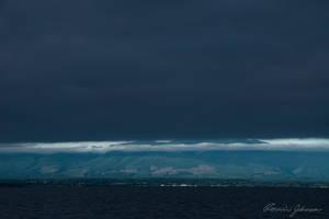 Veiled Mountain by Lasqueti-Ronnie