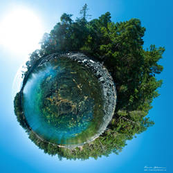 Mini World - Olsen's Bay by Lasqueti-Ronnie