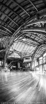 Leviathan Studio - Vertical [BW] by Lasqueti-Ronnie