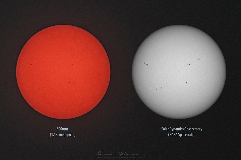 Sunspots - July 5 by Lasqueti-Ronnie