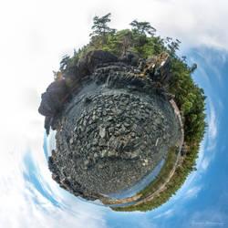 Shoreline of Burnt-Out Bay