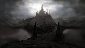 Road to Dark Castle / speedpainting
