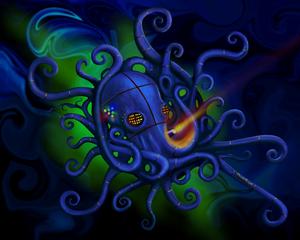 Fukushima octopus