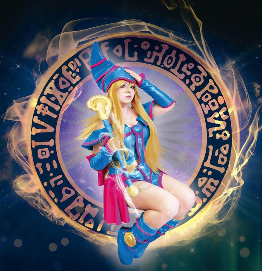 dark magician girl cosplay masturbating
