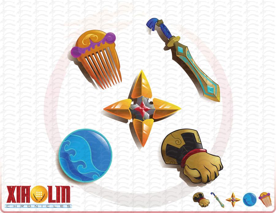 Xiaolin Showdown Shen Gong Wu Toys 17