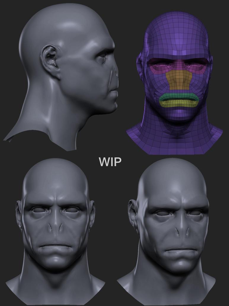 Darth Voldemort WIP_01 by TheArtisticTiger