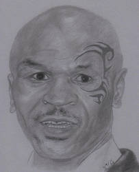 An Iron Mike Portrait by TheArtisticTiger