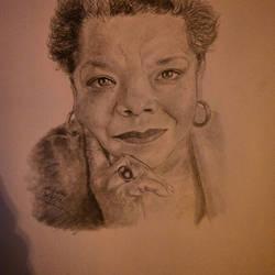 A Maya Angelou Portrait