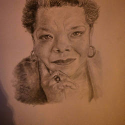 A Maya Angelou Portrait by TheArtisticTiger