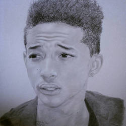 A Jaden Smith Portrait by TheArtisticTiger