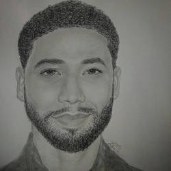 A Jussie Smollett Portrait  by TheArtisticTiger