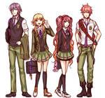 School Uniform Concept