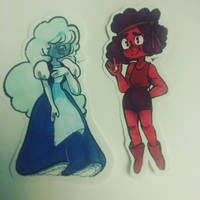 ruby and sapphire by trinoids