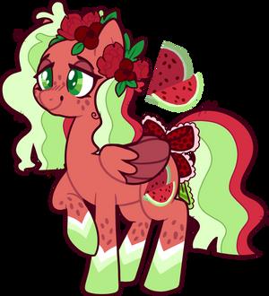 watermelon pony