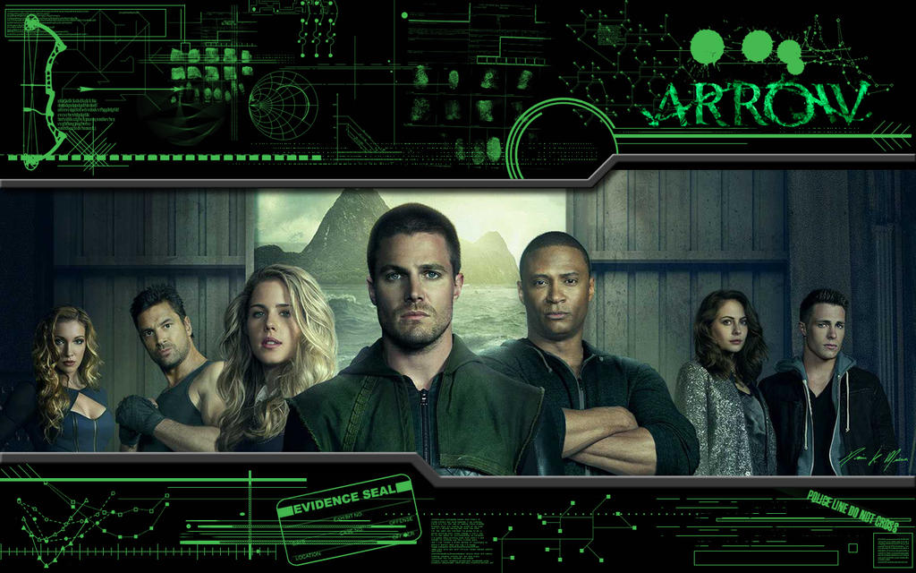 Arrow Wallpaper by BowEchoMedia