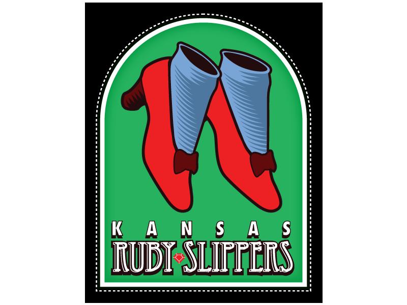 Kansas City Ruby Slippers Logo by garald4Ruby Slippers Vector