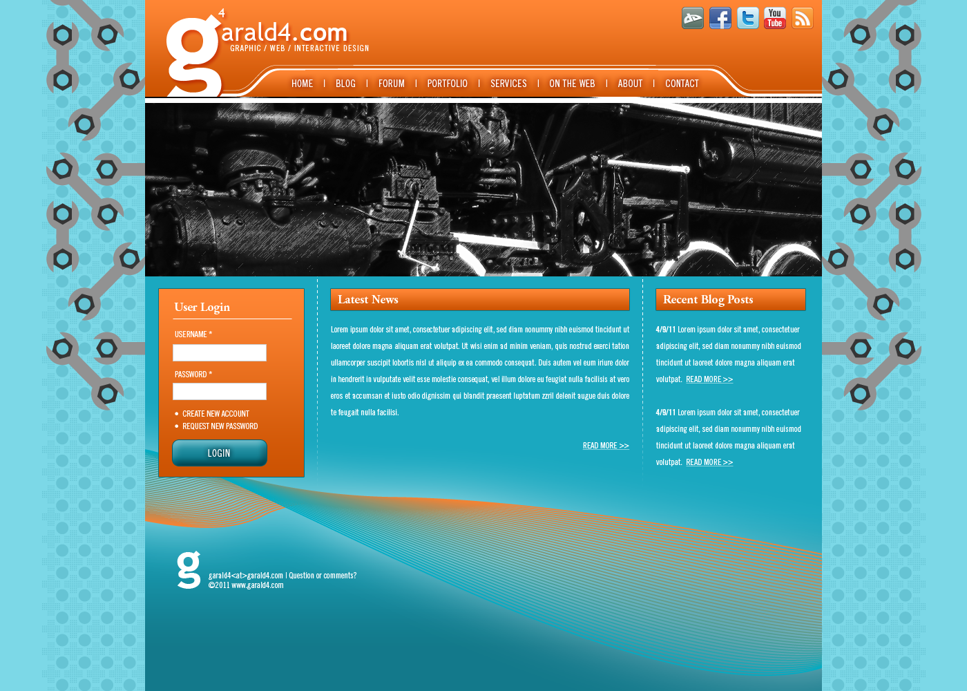 garald4 Drupal Website 2011 by garald4