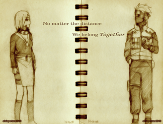 We belong Together RIN KAKASHI by uchuu-koneko