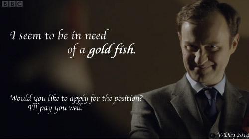 Mycroft Valentine by JustDance231