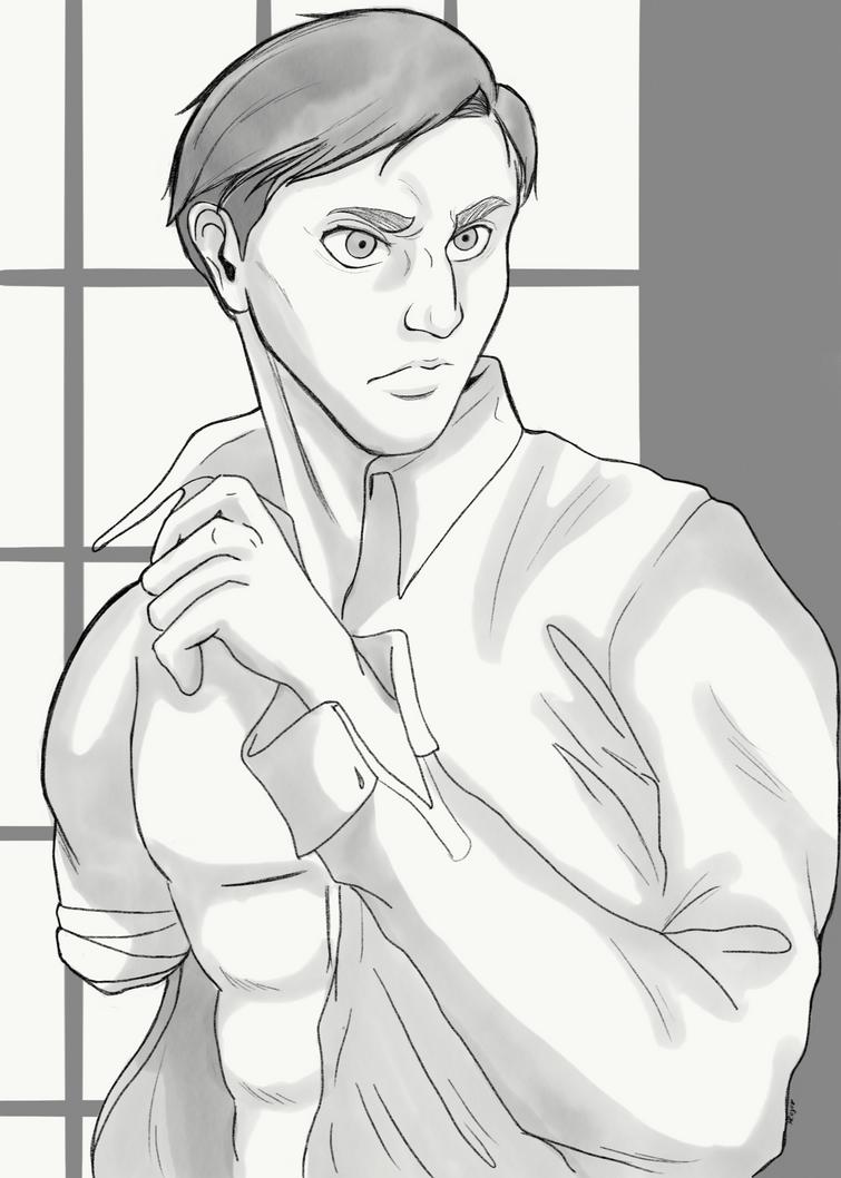 Commander Erwin  by RubyRojos