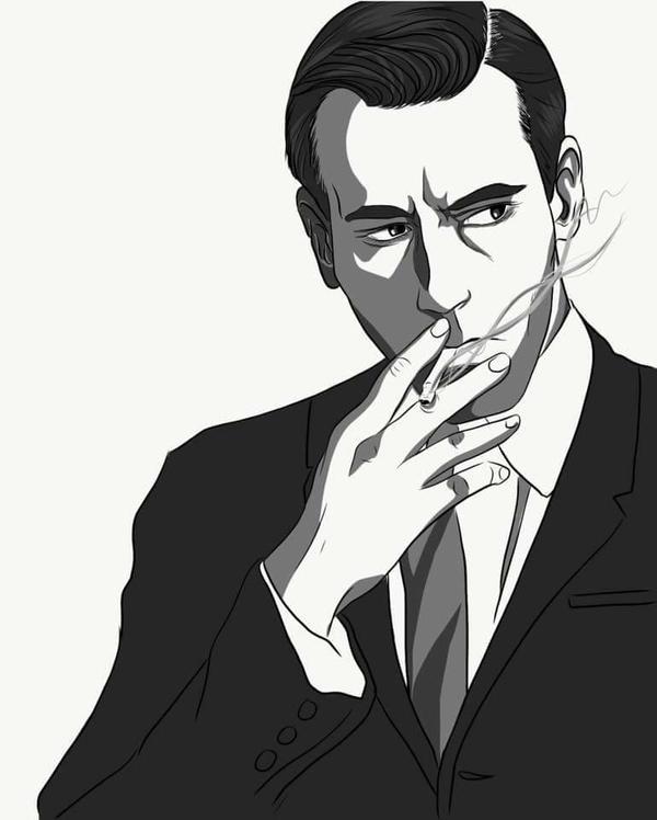 Don Draper by RubyRojos
