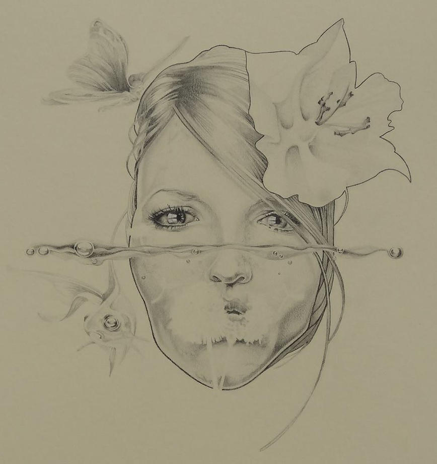 Underwater Drawings In Pencil   www.imgkid.com - The Image ...