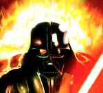 Darth Vader, Mustafar